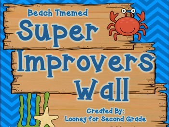 Beach Themed Super Improvers Wall