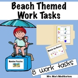 Beach Themed Work Tasks #2forFebruary