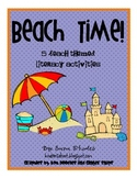 Beach Time! {5 Beach Themed Literacy Activities}