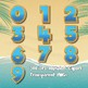 Beach Time Alphabet Alpha Clip Art
