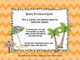 Beach Time Board Game
