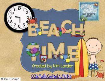 Beach Time  Common Core Aligned