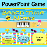 Beach Time Power Point Game