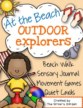 Beach Writing, Sensory, Games