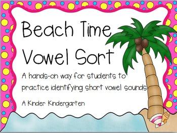 Beach Time Vowel Sort