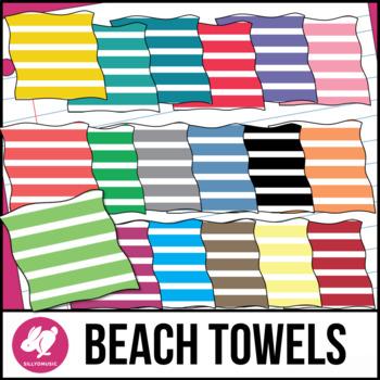 Beach Towel Clip Art