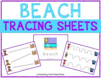 Beach Tracing Sheets