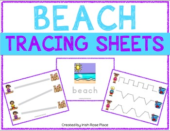 Beach Tracing Sheets