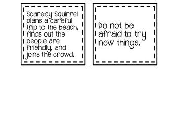 Beach Week-Reading Chart-Compare & Contrast 4 Books - Stories - Summer School