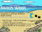 Beach Week-Reading Chart-Compare & Contrast 4 Books - Stor