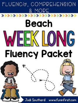 Beach Week Long Fluency Packet