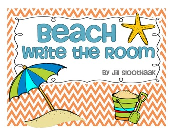 Beach Write the Room (8 words)
