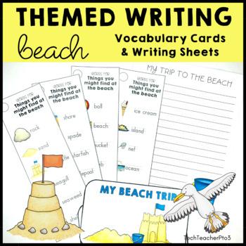 Beach Writing Activity