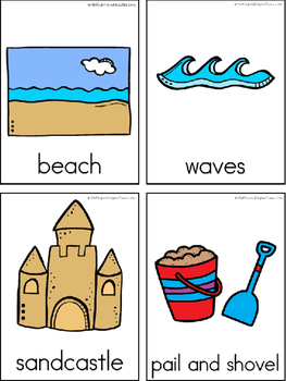 Beach Writing Center Tools: Theme Words