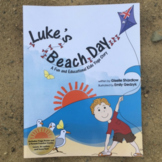 Beach Yoga Book for Kids - Luke's Beach Day