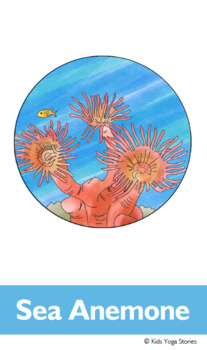 Beach Yoga Cards for Kids