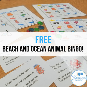 Beach and Ocean Inferencing Lotto FREEBIE