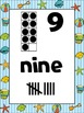 Beach and Ocean Number Posters {Common Core Math} ocean sa