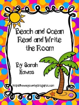 Beach and Ocean Read and Write the Room