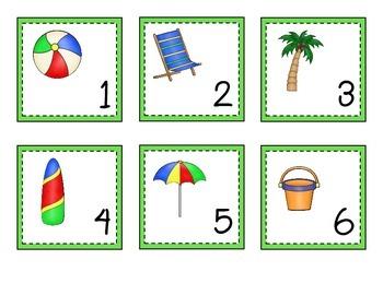 Beach and Ocean Theme Calendar Set