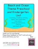 Beach and Ocean Unit- printables, games, and lesson ideas!