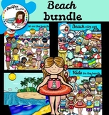 Beach bundle clip art