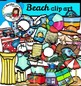Beach bundle clip art