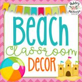 Beach Classroom Decor