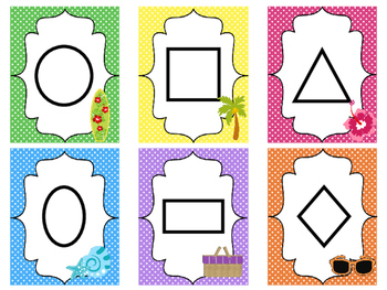Beach themed Printable Weekly Focus Bulletin Board Set. Class Accessories.