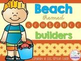 Beach themed Sentence Builders