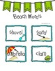 Back To School with Beach to School!  Beach Themed Activit