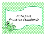 Beach/Ocean Math Best Practice Standards