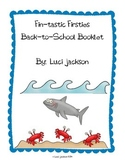 Beach/Ocean Themed First Grade Back-to-School Booklet