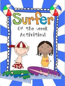 "Beach Theme ""Star"" (Surfer) of the Week!"