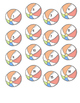 Beachballs Numbered