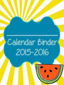 Beached Themed Teacher Binders