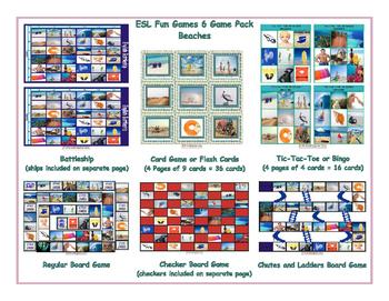 Beaches 6 Board Game Bundle