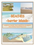 Beaches:  The Ocean and Barrier Islands (From Florida to Maine)