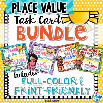Place Value Task Card Bundle