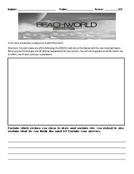 Beachworld by Stephen King Assignment