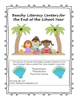 Beachy Literacy Centers for the End of the School Year