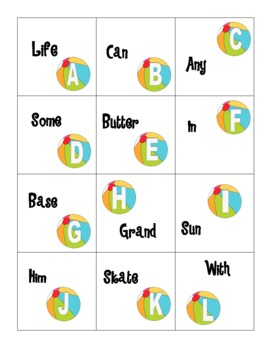 Beachy Literacy- End of Year Common Core Review Games