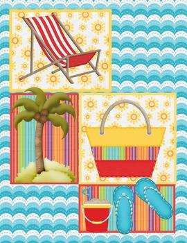 Beachy Plan/Grade Book Cover