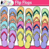 Flip Flops Clip Art: Summer Graphics {Glitter Meets Glue}