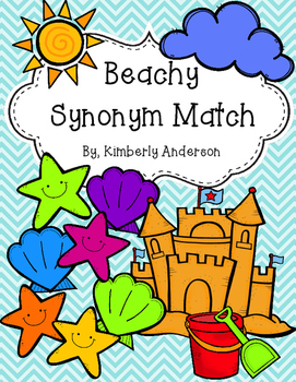 Beachy - Summertime Synonyms Match