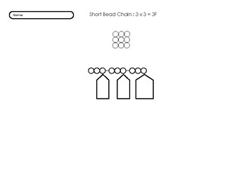 Bead Chain 3 Work Sheet