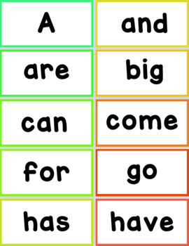 Bead It - Daily Five Center for Sight Words - EDITABLE