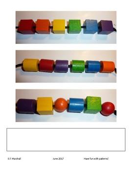 Bead Pattern Cards