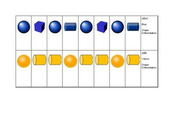 Bead Pattern Strips