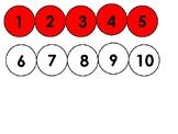 Bead String Number Line 1-100